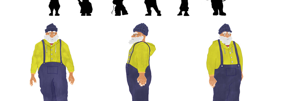 Fisherman Personal ProjectCharacter Design - Fisherman