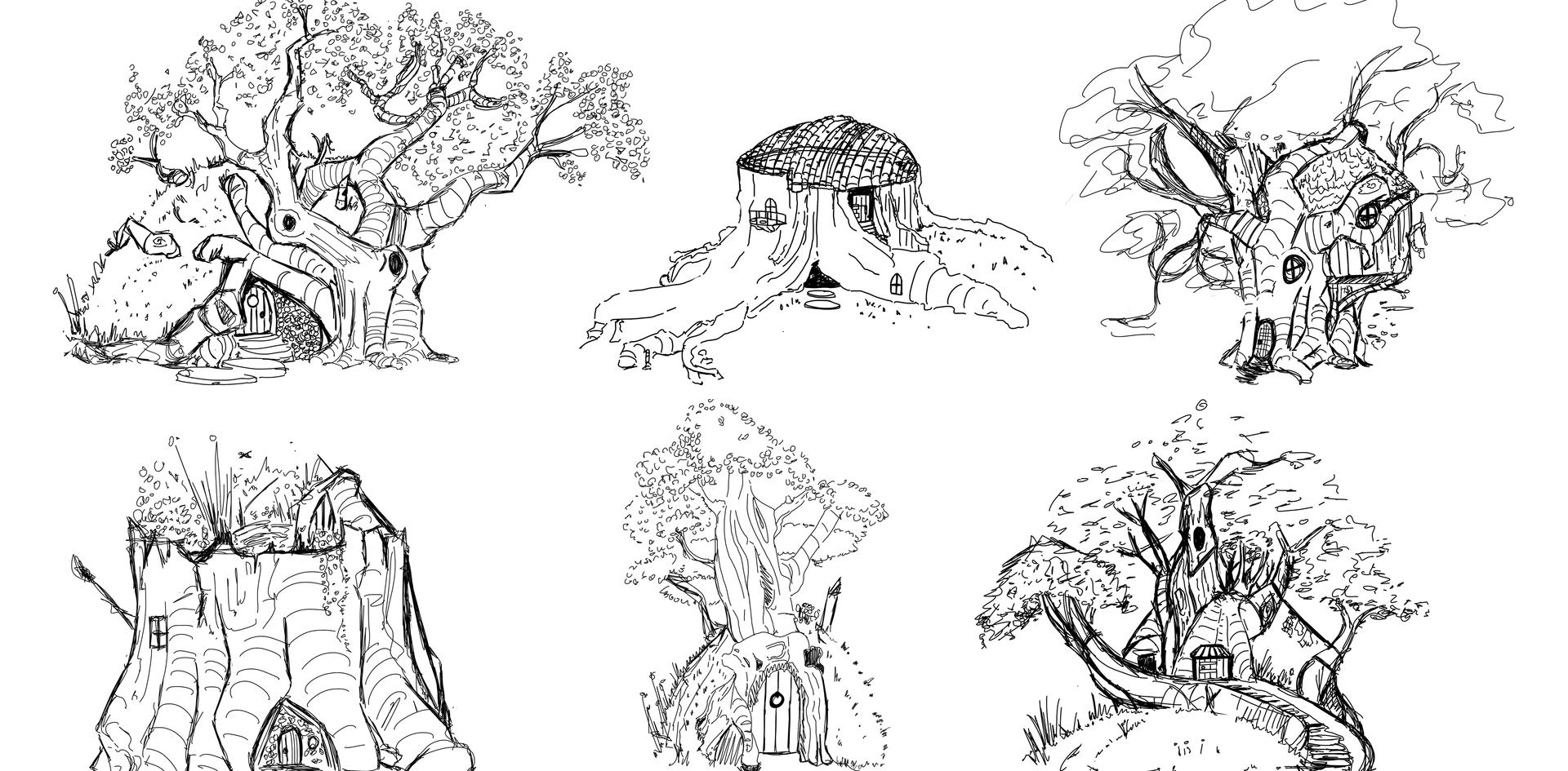 Initail Sketches