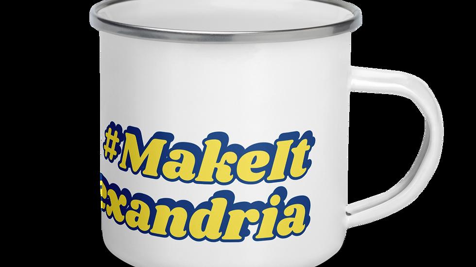 #MakeItAlexandria Enamel Mug