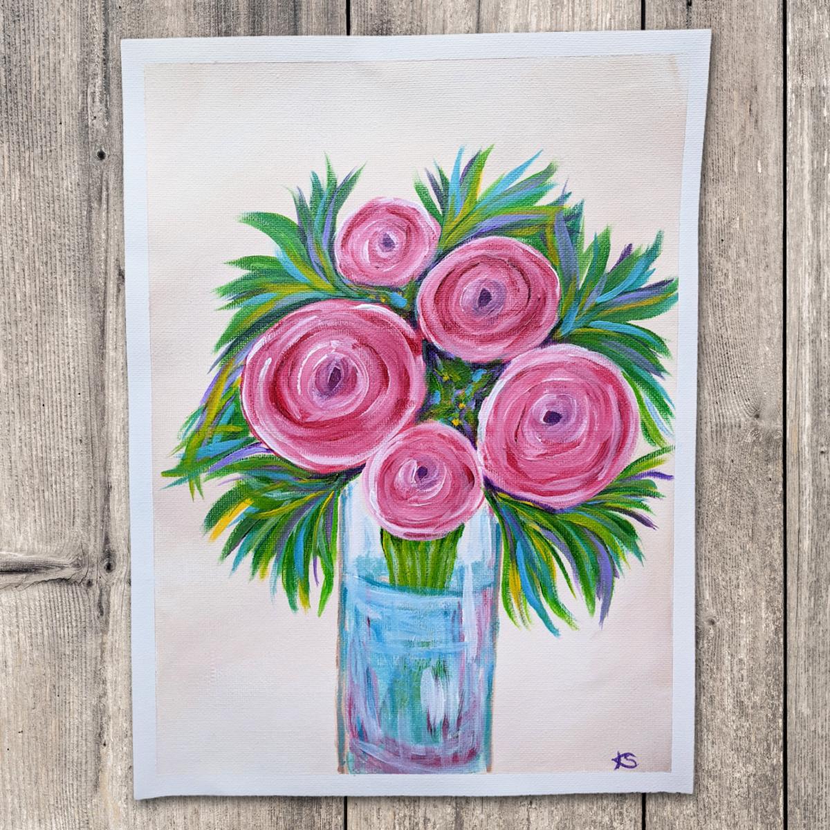 Abstract floral - KS - Kellie Sansone