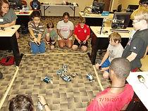 Robots Battle Royale