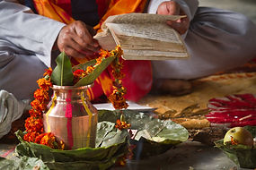 Hindu religieuse Rituel