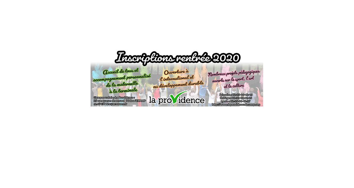 pub premiere page inscriptions 2020