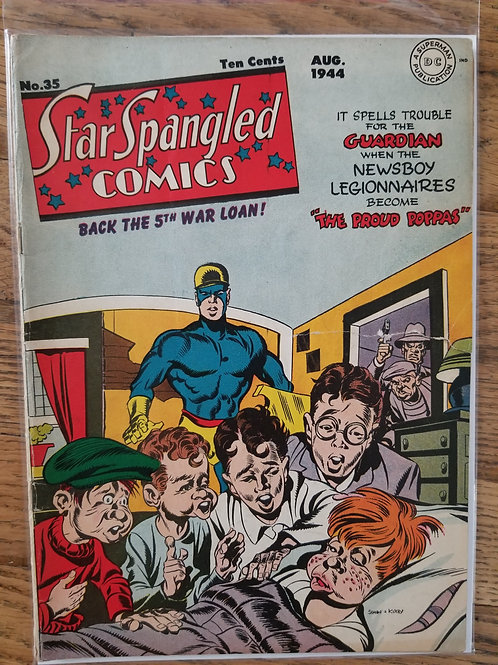 Star Spangled Comics 35 front