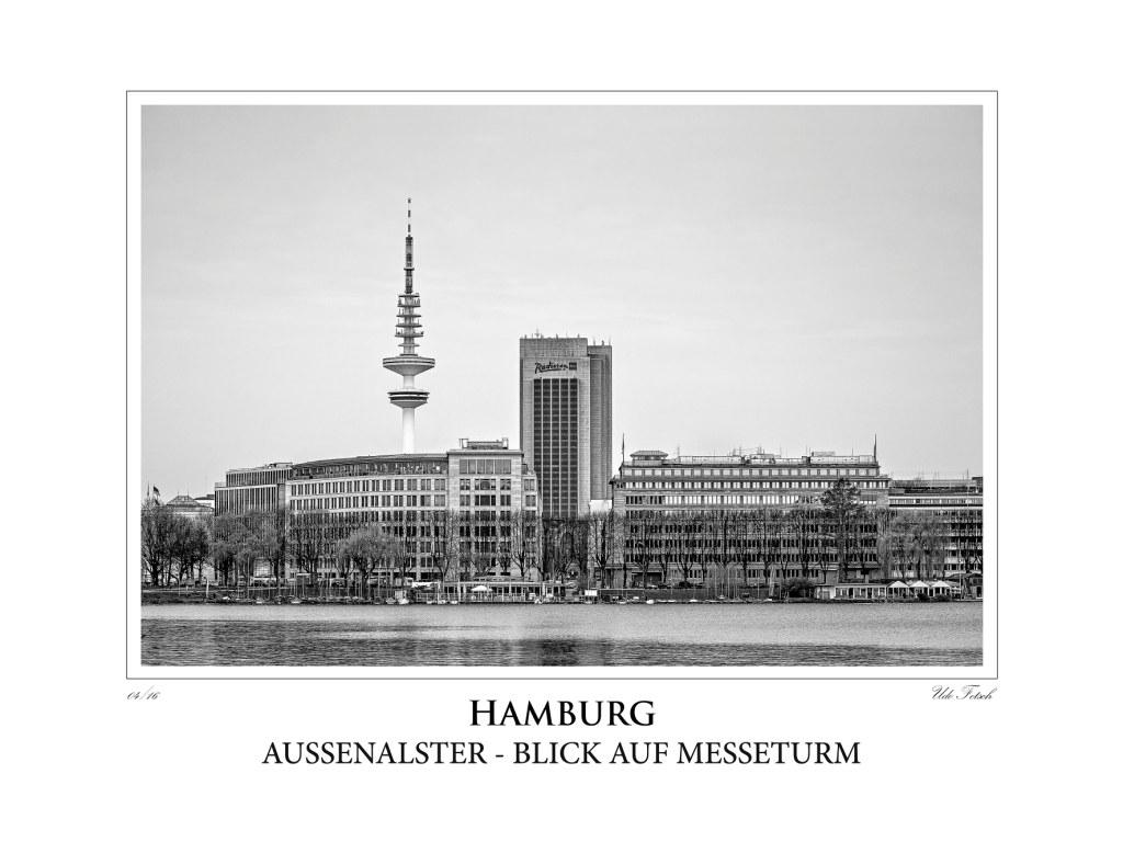 Hamburg Blick auf Messeturm