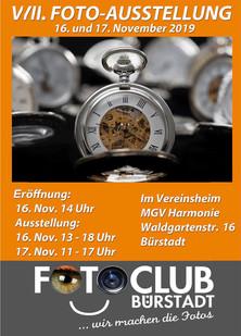 VIII. Fotoausstellung 16. Nov. bis 17. Nov. 2019