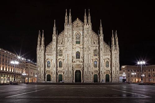 Milano. Duomo Andrà tutto bene! @ Cristian Castelnuovo