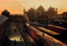 Steve McCurry-Stazione Ferroviaria.Agra