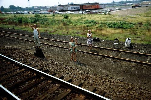 JFK Funeral Train © Paul Fusco