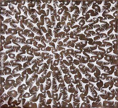 002.Jivya Soma Mashe, Spirale di uccelli