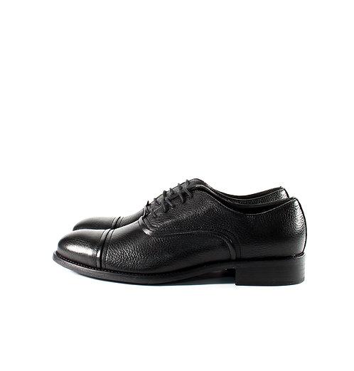 鹿皮橫紋牛津鞋