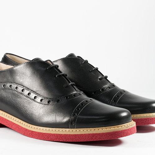 經典紅底牛津鞋