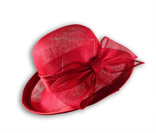 典雅造型蝴蝶結淑女帽
