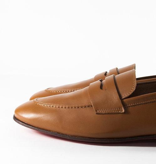 棕色樂福鞋