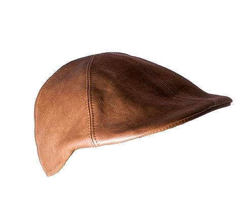 真皮原色狩獵帽