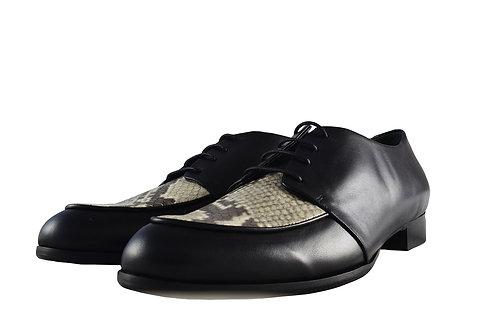 蟒蛇紋英倫紳士鞋