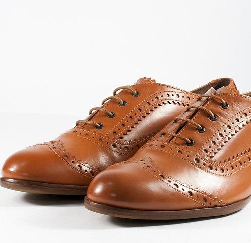 經典雕花牛津鞋