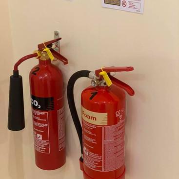 Correct maintenance of Fire Extinguishers