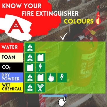 Know your Fire Extinguisher Colours