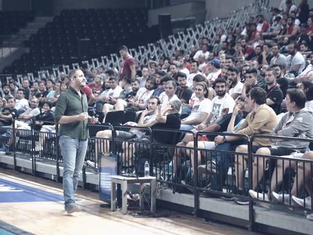 Arda Coşkun 13. Uluslararası Basketbol Semineri'nde