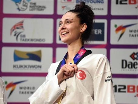 Sporcumuz İrem Yaman'dan Altın Madalya!
