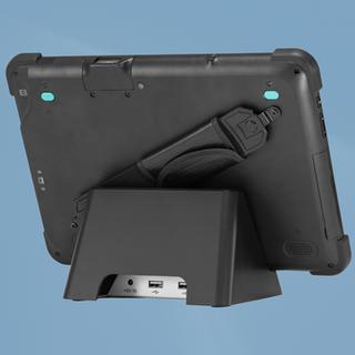 Hisense Tablet on Charging Dock rear vei
