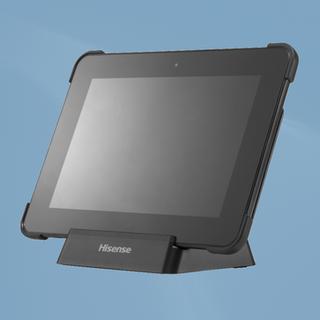 Hisense Tablet on Charging Dock front vi