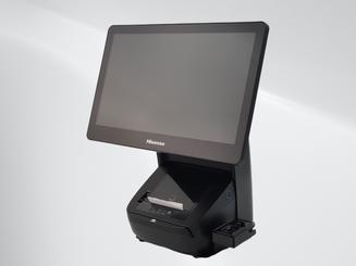 Biometric Fingerprint Reader on External Cradle