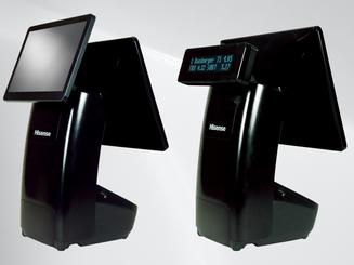 """10"""" LCD Customer-facing Display  or  VFD Customer-facing Display 2x20 Characters"""
