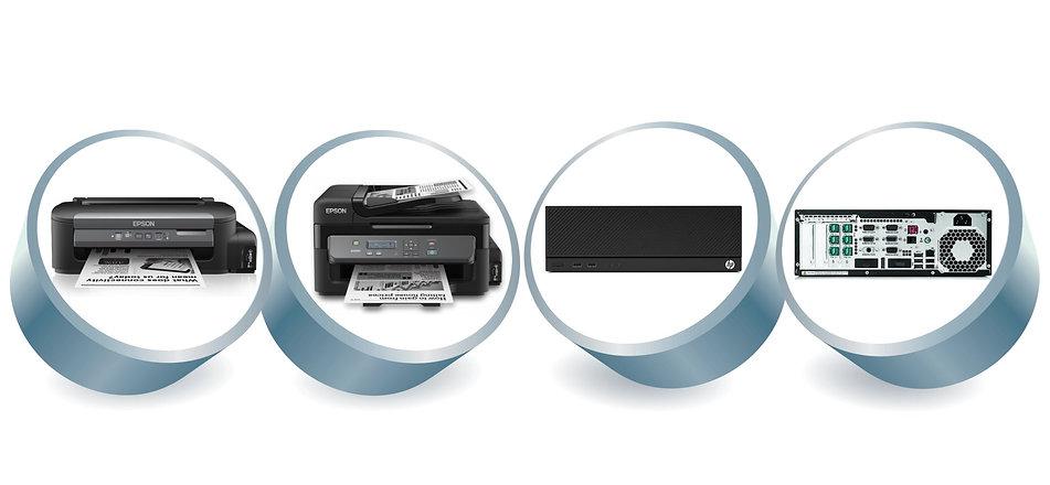 Epson Back Office Printers & HP Server