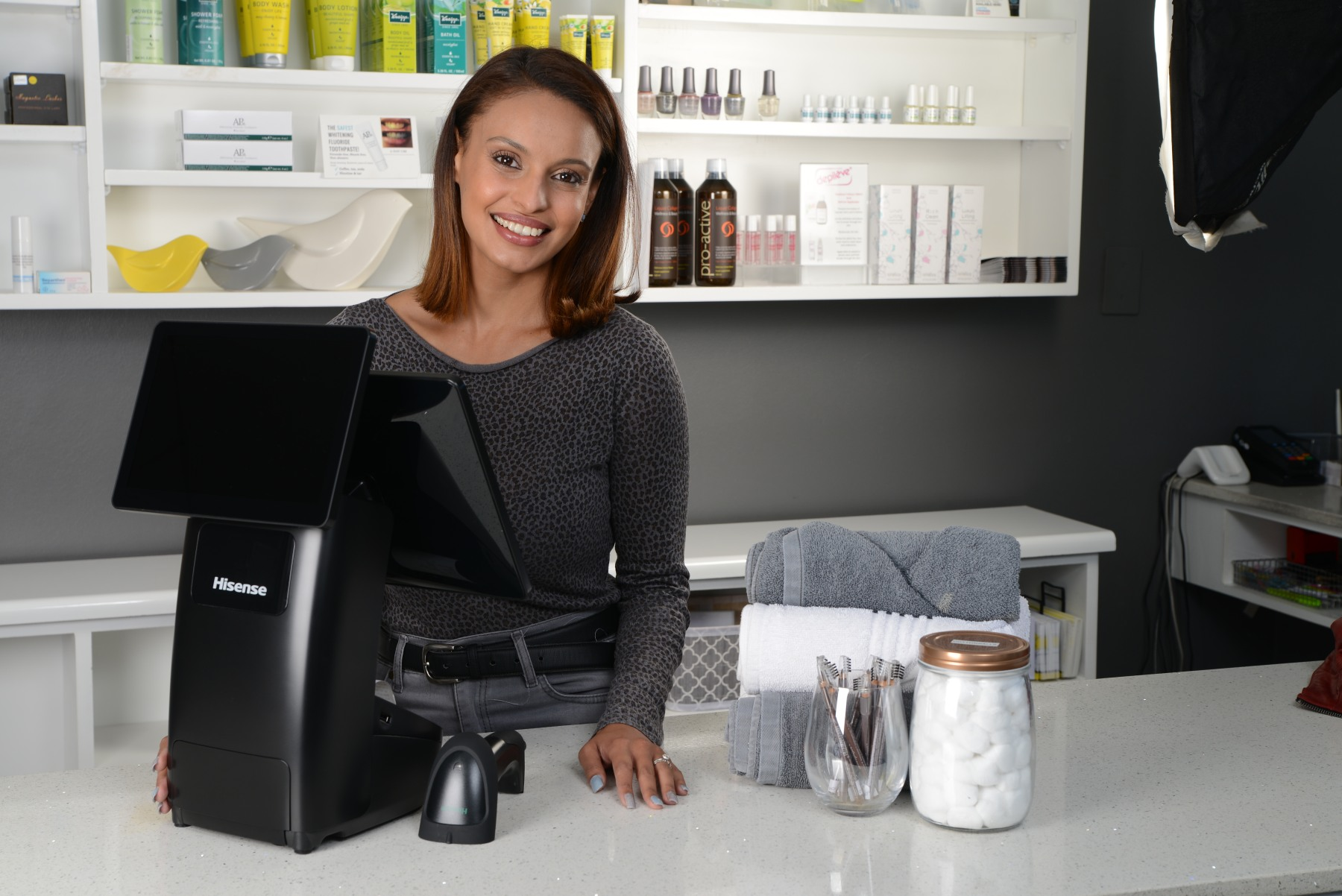 Hisense point of sale touch computer