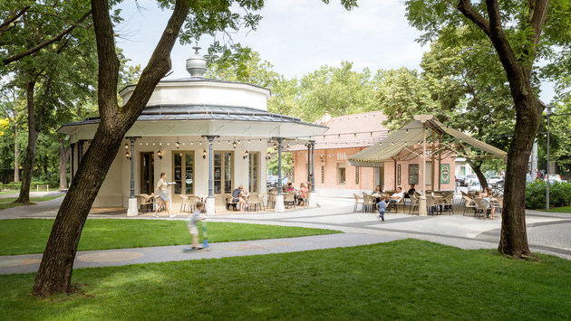 Liget Café - Budapest