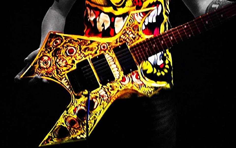 CUSTOMISED GUITAR