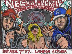 Necro / Ill bill flyer art