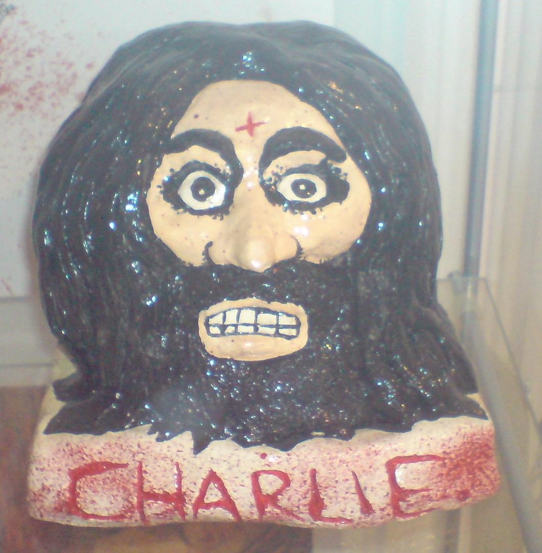 13 HEADS OF CHARLES MANSON