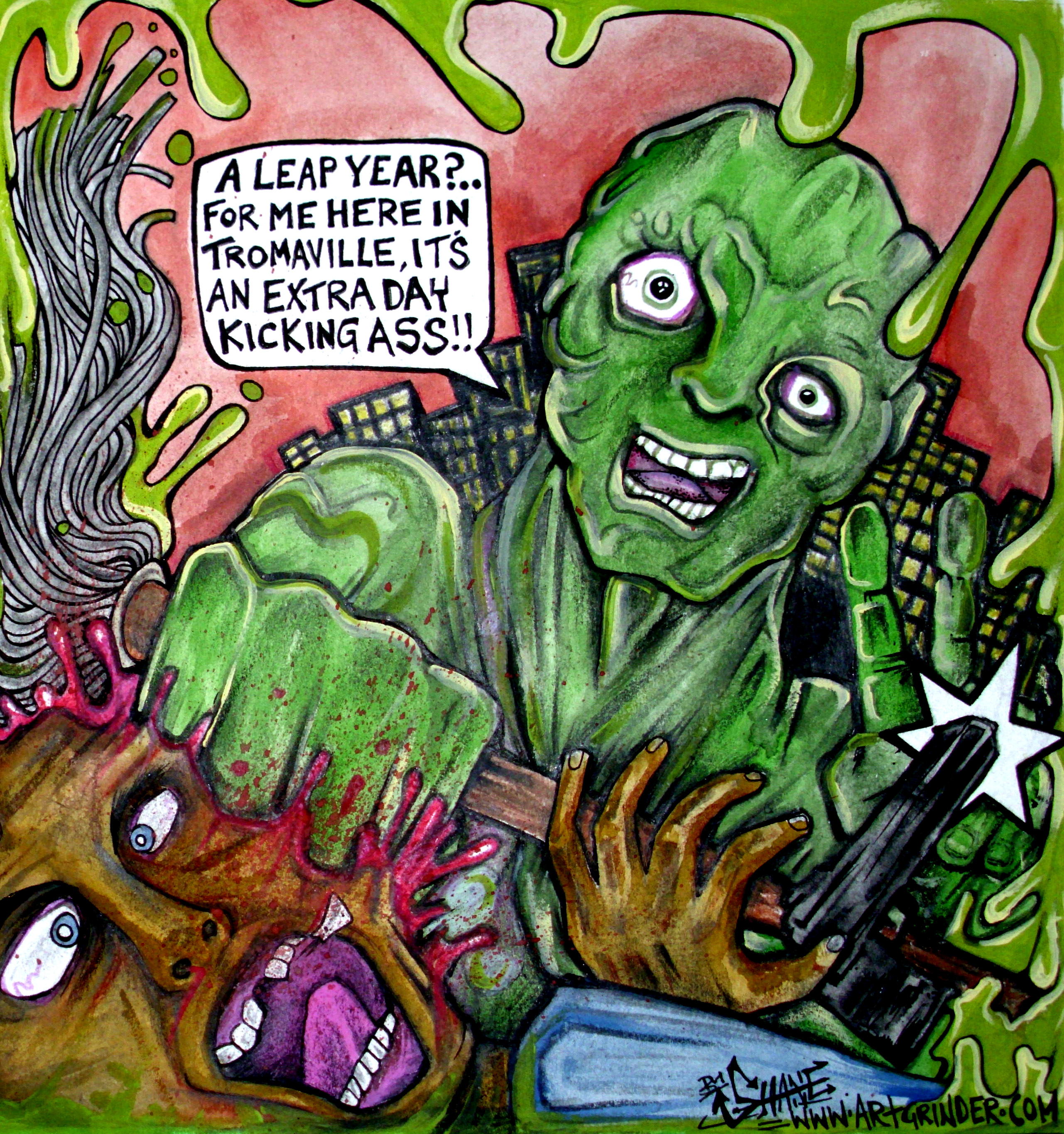TROMA ART COMPETITION WINNER