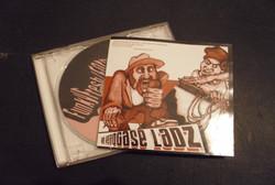 E.P CD inner cover artwork.