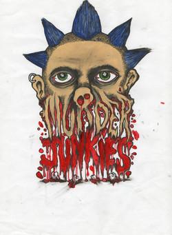 MURDER JUNKIES ART