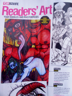 FEATURE IN READERS ART