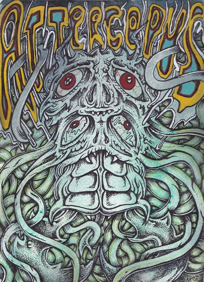 BAND POSTER ART FOR ATTERCOPUS