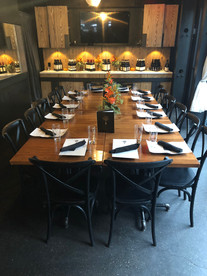 Private Dining for Small Groups Too