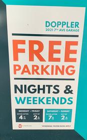 Free Parking at 2120
