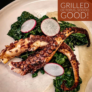 Perfectly Grilled Octopus