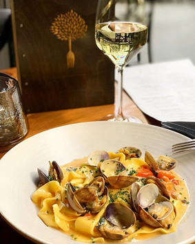 House-made Pappardelle & Clams