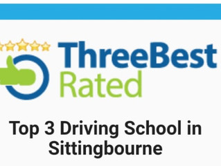 Rated as a top 3 local driving instructor