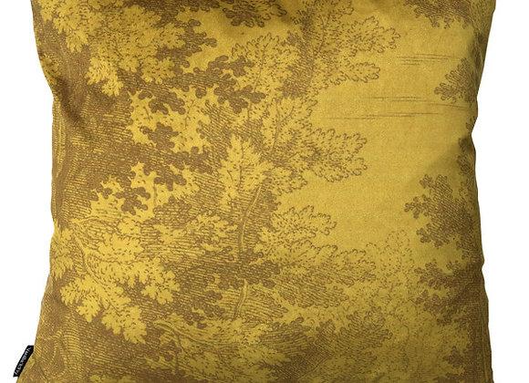 Sierkussen Woods Mustard - Vanilla Fly