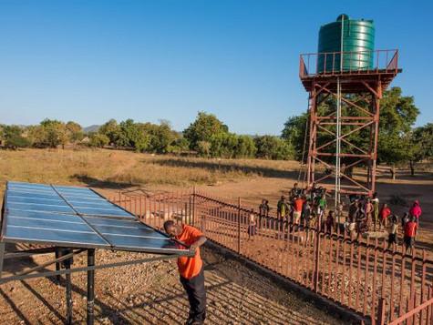 100 MB Solarkapazität Ausschreibung Sambia
