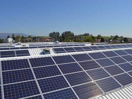Photovoltaik-Analge Biberist