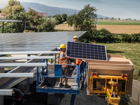 Bernische Kraftwerke BKW setzen auf Solarstrom!