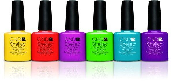 pintura CND uñas